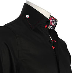 Men's Black Formal Shirt
