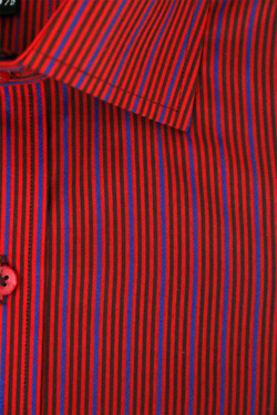 Red / Royal Blue/Black Stripes
